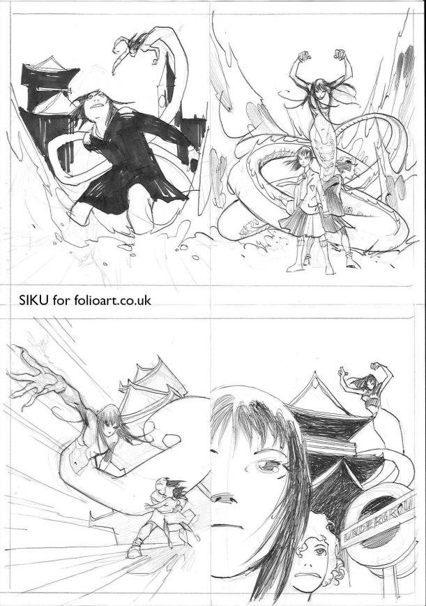 Takeshita_Demons_cover_roughs_SIKU
