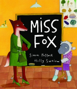 The cover for Miss Fox by Simon Puttock