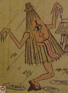 Karakasa yokai umbrella demon