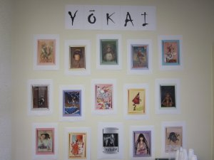 Yokai wall of fame