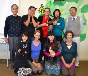 Hyogo Centre Japanese workshop team