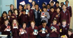 Willetton Library Burrendah Primary students for Childrens Book Week