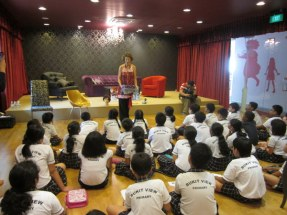 Bukit View Primary School author visit-2