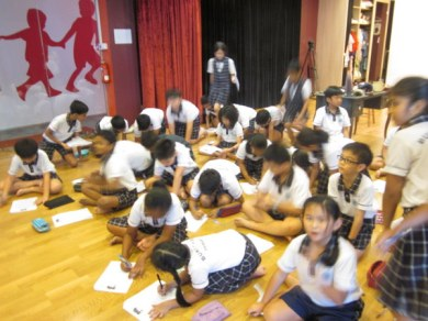 Bukit View Primary School author visit-3