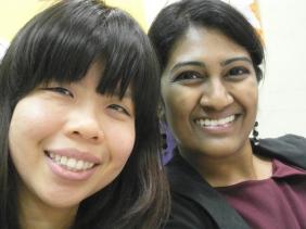 Vanessa and Kiyu