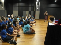 Author visit for Singapore Writers Festival