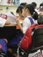 writing workshop at CHIJ Kellock-10