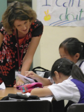 writing workshop at CHIJ Kellock-9