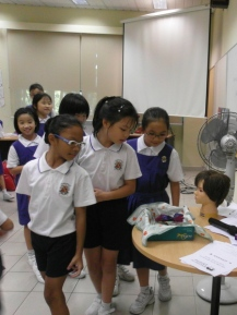 writing workshop at CHIJ Kellock2