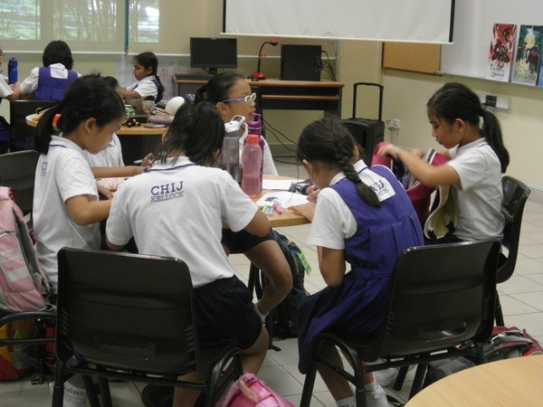 writing workshop at CHIJ Kellock4