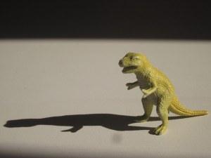 Tyrannosaurus on the moon.