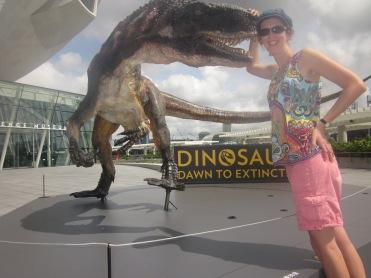 Dinosaurs at Singapore's ArtScience Museum