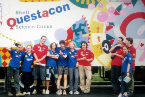 Shell Questacon Science Circus 2001