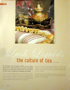 Cristy Burne: the culture of tea