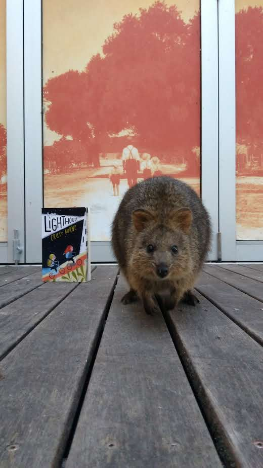 Quokka and Lighthouse