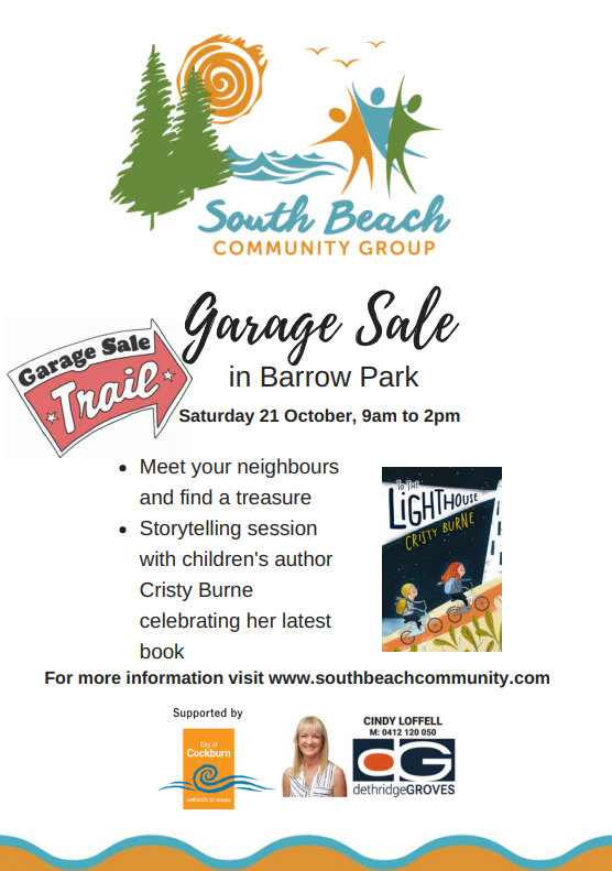 South Beach Community Group Barrow Park Garage Sale.jpg