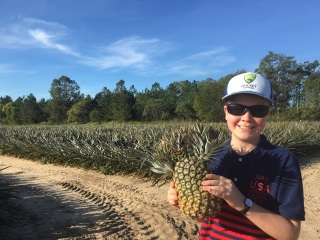 Sam with ugly pineapple.jpg