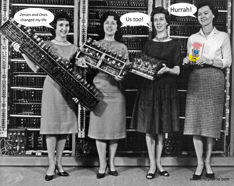 Women_holding_parts_of_the_first_four_Army_computers-with Zeroes-and-Ones-endorsements