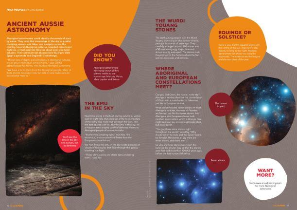Double Helix Indigenous astronomy