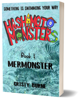 3D cover Book 4 Hashimoto Monsters