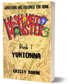 3Dcover Book 1 Hashimoto Monsters