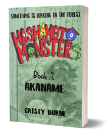 3Dcover Book 2 Hashimoto Monsters