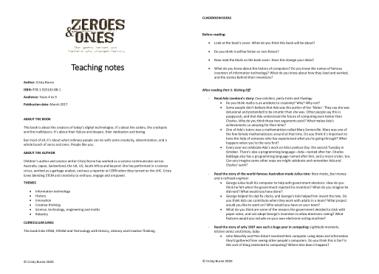 Teaching notes PDF image