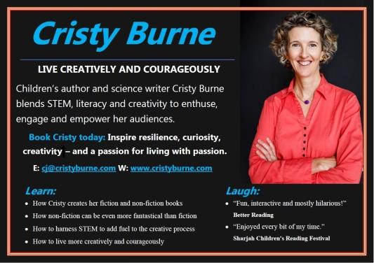 Cristy Burne one page brochure