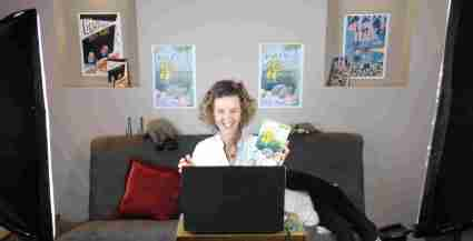 online author visit - small